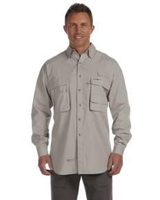 Hook & Tackle 1013L Men's Gulf Stream Long-Sleeve Fishing Shirt