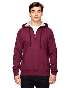 Champion S185 Cotton Max 9.7 oz. Quarter-Zip Hood
