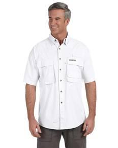 Hook & Tackle 1013S Men's Gulf Stream Short-Sleeve Fishing Shirt