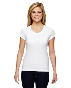Champion T050 Ladies' Vapor® Cotton Short-Sleeve V-Neck T-Shirt
