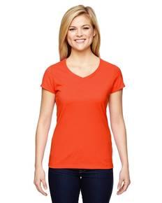 champion-t050-ladies-39-vapor-cotton-short-sleeve-v-neck-t-shirt
