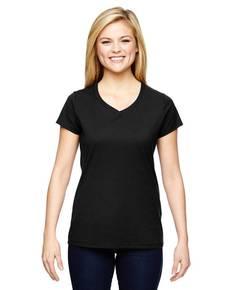 Champion T050 Ladies' Vapor® Cotton Short-Sleeve V-Neck T-Shirt