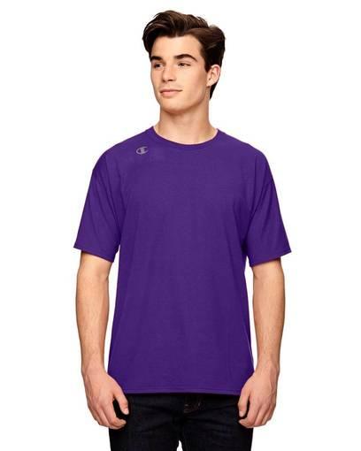 champion t380 vapor® cotton short-sleeve t-shirt front image