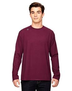 Champion T390 Vapor® Cotton Long-Sleeve T-Shirt