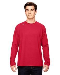 Champion T390 Vapor® Cotton Long-Sleeve T-Shirt