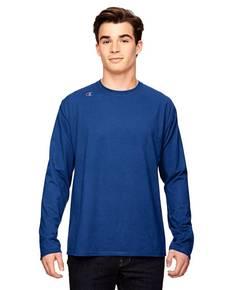 Champion T390 for Team 365 Vapor® Cotton Long-Sleeve T-Shirt