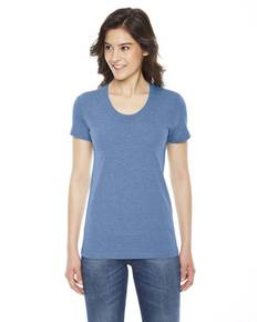 American Apparel TR301 Ladies' Triblend Short-Sleeve Track T-Shirt