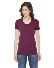 American Apparel TR301 Ladies' Triblend Short-Sleeve Track T-Shirt