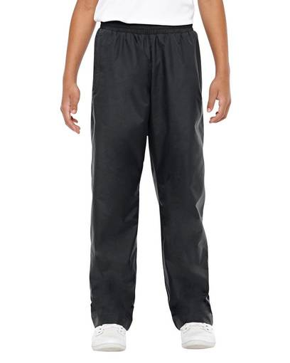team 365 tt48y youth conquest athletic woven pant front image