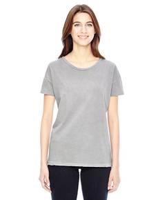 Alternative 04861C1 Ladies' Rocker Garment-Dyed Distressed T-Shirt