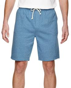 Alternative 05393E Men's Triple Double Eco-Mock Twist Shorts