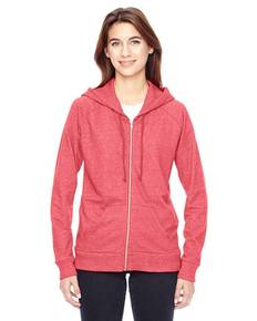 Alternative 09573EY Ladies' Eco-Mock Twist Adian Hoodie