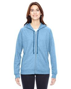 Alternative 09573EY Ladies' Adrian Eco-Mock Twist Hoodie