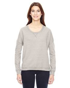 Alternative 09833E Ladies' Sunset Eco-Mock Twist Crewneck