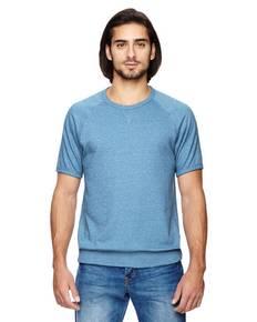 Alternative 09874E Men's Gym Rat 2.0 Eco-Mock Twist Sweatshirt