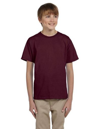 jerzees 363b youth 5 oz. hidensi-t® t-shirt front image