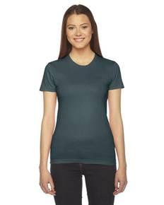 American Apparel 2102 Ladies' Fine Jersey USA Made Short-Sleeve T-Shirt