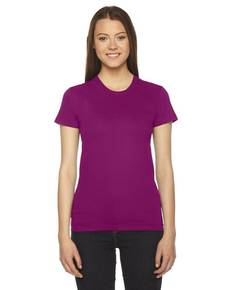 American Apparel 2102 Ladies' Fine Jersey Short-Sleeve T-Shirt