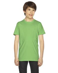 American Apparel 2201 Youth Fine Jersey USA Made Short-Sleeve T-Shirt