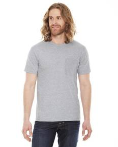 American Apparel 2406 Unisex Fine Jersey Pocket Short-Sleeve T-Shirt