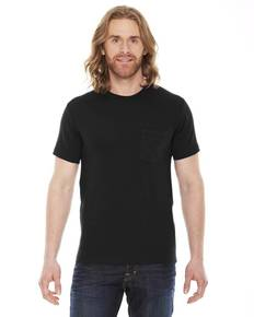 American Apparel 2406 Unisex Fine Jersey Pocket Short-Sleeve T-Shirt