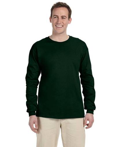 jerzees 363l adult 5 oz. hidensi-t® long-sleeve t-shirt front image