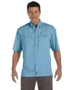 Hook & Tackle 1015S Men's Peninsula Short-Sleeve Performance Fishing Shirt