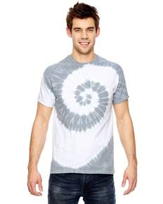 Dyenomite 365SL for Team 365 Team Tonal Spiral Tie-Dyed T-Shirt