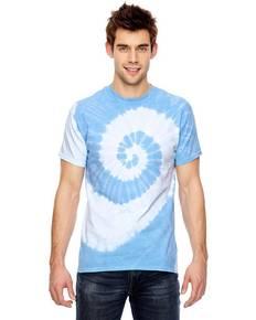 Dyenomite 365SL for Team 365 Team Tonal Spiral Tie-Dyed T-Shirt