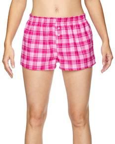 Robinson Apparel 5662 Juniors' Flannel Short