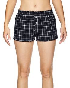 Robinson Apparel 5662 Juniors' Flannel Short