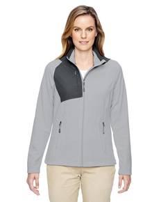 Ash City - North End 78215 Ladies' Excursion Trail Fabric-Block Fleece Jacket
