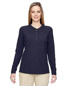 Ash City - North End 78221 Ladies' Excursion Nomad Performance Waffle Henley