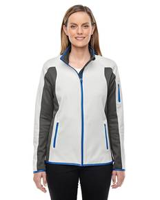 Ash City - North End 78230 Ladies' Motion Interactive Colorblock Performance Fleece Jacket