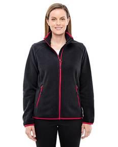 Ash City - North End Sport Red 78811 Ladies' Vector Interactive Polartec Fleece Jacket