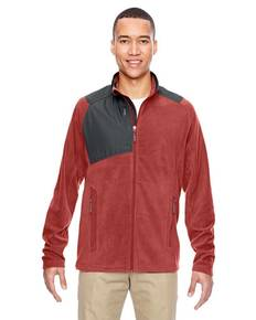 Ash City - North End 88215 Men's Excursion Trail Fabric-Block Fleece Jacket