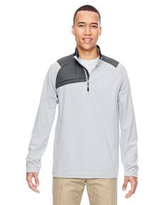 Ash City - North End 88217 Adult Excursion Trail Fabric-Block Fleece Quarter-Zip