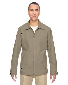 North End 88218 Men's Excursion Ambassador Lightweight Jacket with Fold Down Collar