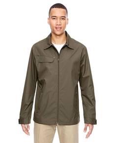 North End 88218 Men's Excursion Ambassador Lightweight Jacket with Fold Down Collar