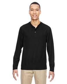 Ash City - North End 88221 Men's Excursion Nomad Performance Waffle Henley