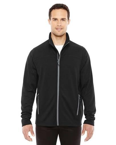 north end 88229 men's torrent interactive textured performance fleece jacket Front Fullsize