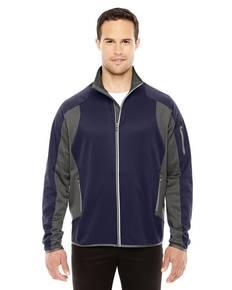 North End 88230 Men's Motion Interactive Colorblock Performance Fleece Jacket