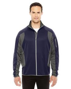 North End 88230 Men's Motion Interactive Colorblock Performance Fleece Jacket