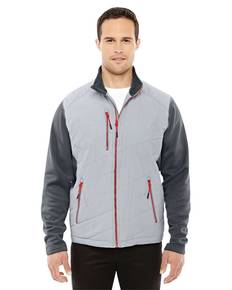 North End 88809 Men's Quantum Interactive Hybrid Insulated Jacket