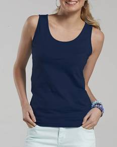 LAT 3690 Ladies' Junior Fit Fine Jersey Tank