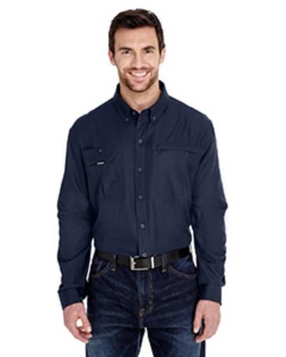 dri duck 4443 men's regulator shirt front image