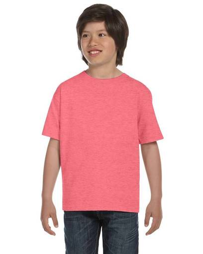 hanes 5380 youth 6.1 oz. beefy-t® front image