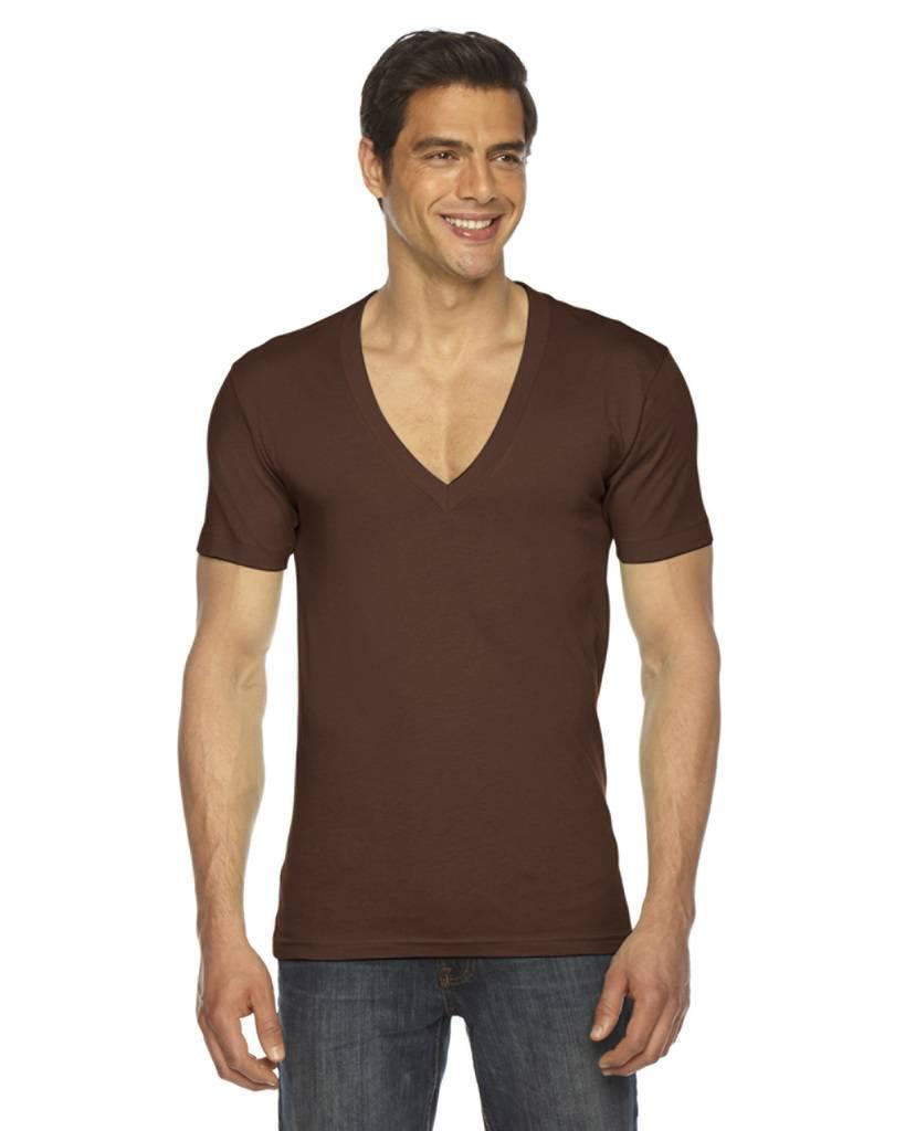 American Apparel 6456 Unisex Sheer Jersey Short Sleeve