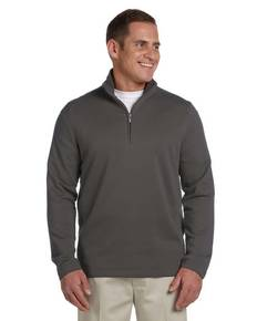 Ashworth 4019 Men's French Terry Half-Zip Pullover