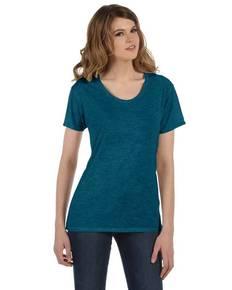 Alternative AA2620 Ladies' Kimber Mélange Burnout T-Shirt